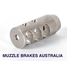 MUZZLE BRAKE COMPETITION STAINLESS STEEL M18X1RH THREAD .30CAL,308