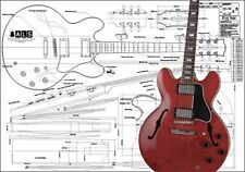 Gibson ES-355® Hollow Body Electric Guitar Plan