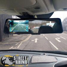 "Rover Streetwise Rear View Mirror G Shock HD Dash Cam 4.3"" Display"