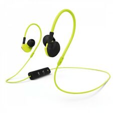 Hama Active BT Clipon Gym Earphones Sport Earbuds Bluetooth Headset Black/yellow