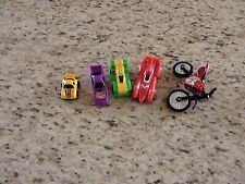 Toy Car Lot Matchbox Size  Lot of 5 NHRA LEGO GUC