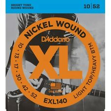 10 Sets of D'Addario EXL140 Nickel Electric Guitar Strings (10-52) +Picks