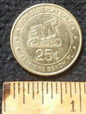 Big M Casino Ship Ft. Myers Florida Fl Gaming Token Coin 25 Cents Docks no more