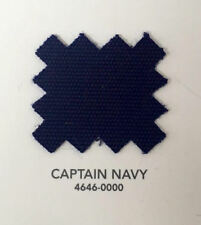 "Sunbrella Acrylic Binding 3/4"" Sewing Edge Trim Captain Navy 25 Yards"