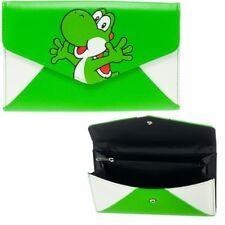 Nintendo Super Mario Bros. Yoshi Envelope Wallet With Chain