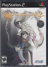 Shin Megami Tensei Digital Devil Saga 2 PS2 Sony PlayStation 2 Version 2