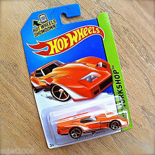 2014 Hot Wheels '76 CORVETTE GREENWOOD 237/250 HW WORKSHOP diecast Mattel ORANGE