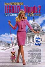 LEGALLY BLONDE 2: RED, WHITE & BLONDE Movie POSTER 27x40 Reese Witherspoon Sally
