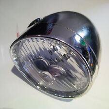 Premier 3 Led Chrome Bicycle Headlamp Front Light (Without Bracket) Retro