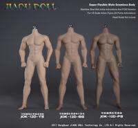 1:6 JIAOU DOLL Figure Steel Skeleton Detachable Foot Strong Male Body NO Head