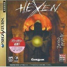 USED Hexen Sega Saturn Japan Import