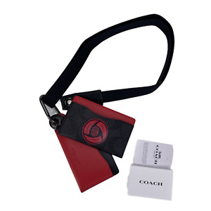 Coach X MBJ Naruto Sharingan Eye Card Case Wallet Itachi
