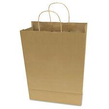Cosco Premium Large Brown Paper Shopping Bag 50/Box 091566