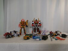 """2011 Mighty Morphin Power Rangers DX Super Samurai 12"""" Red Bull Megazord + More"""