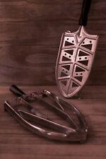 Coppia poggia ferro da stiro in metallo anni '60, vintage