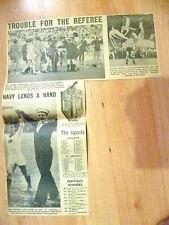 1966 Coppa del mondo stampa taglio-guai per L'ARBITRO...................