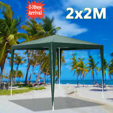 More details for 2x2m gazebo waterproof marquee canopy outdoor garden yard wedding party tent #