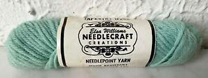 Vintage Elsa Williams Needlecraft Tapestry Wool Yarn - 1 Skein Blue-Green #N515