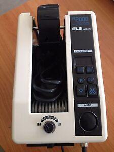 Dérouleur de ruban adhésif électronique ELM M-2000 automatic tape dispenser