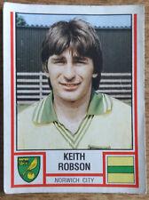Panini football sticker 1981, Keith Robson, Norwich City, 241