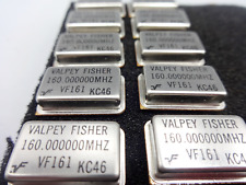 Vintage Valpey Fisher Vf161 160000000 Mhz Crystal Oscillator Lot Of 10 New