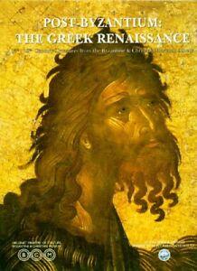 Post-Byzantium Greek Renaissance Christian 15-18 Century Treasure Icons Frescoes