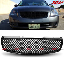 ABS Black Front Grille Grill Honeycomb Mesh Style fits 2005-2006 Nissan Altima