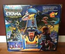 MASTERS OF THE UNIVERSE HE MAN 1986 RARE ETERNIA PLAYSET MISB MOTU