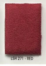 Foam Red Suede Stretch Headlining Foam Backed Fabric 60