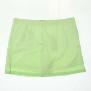 Lady Hagen Essential Collection Green Paradise Oxford Dot Golf Skort NEW