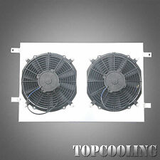 Aluminum Radiator Shroud With Fan For Holden Commodore VY 5.7L LS1 Gen V8 Petrol