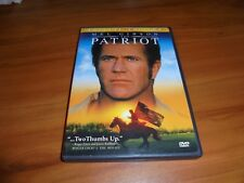 The Patriot (DVD, 2000 Widescreen Special Edition) Used Mel Gibson War Movie