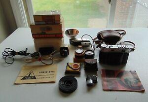 Kodak Retina IIIC 35mm Film Rangefinder Camera Schneider 50mm F2 Xenon C Lens