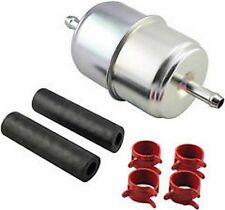 Baldwin Filter BF833-K2, In-Line Fuel Filter with Clamps and Hoses