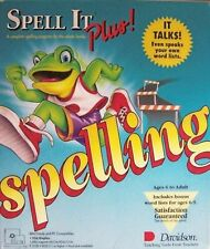 Spelling Spell It Plus! 3.5 Low Density Disks IBM Tandy & PC Compatibles NEW