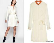 NWT EQUIPMENT Silk Blend RAVENA Belted Shirt Dress SMALL $350