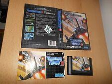 Thunder Force 2 Sega Mega Drive PAL Versión