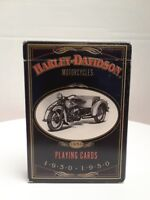 Harley Davidson Playing Cards, 1997, 1930/1950 Pictures