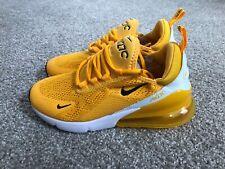 Nike W Air Max 270 Casual Shoe University Gold/Black CK1675-700 Women's Size 6.5