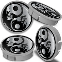 24 YIN /& YANG STICKERS 25MM SCRATCH AND FADE RESISTANT