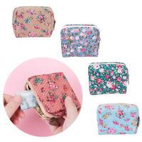 Women Girl Retro Floral Wallet Coin Purse Clutch Credit Card Holder Handbag New