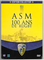 RARE DVD / ASM 100 ANS DE RUGBY + BONUS - EDITION COLLECTOR - NEUF SOUS CELLO