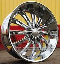"24"" INCH B19 CHR RIMS AND TIRES 5X127 IMPALA SS CAPRICE GRAND CHEROKEE C10 RAM"