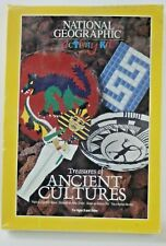"""National Geographic Curiosity Kit """"Treasures of Ancient Cultures"""" 1995 Nos"""