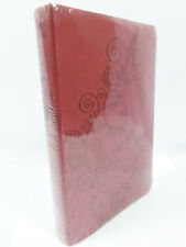 Holman Christian Standard Bible Red Beanstalk Personal Size Bible Leather SEALED