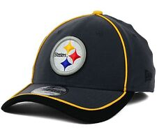 Pittsburgh Steelers New Era 39Thirty Anthracite Sideline S/M Fitted Cap Hat