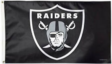 3 x 5 ft. NFL Oakland Raiders Flag, Printed with Heading and D-rings