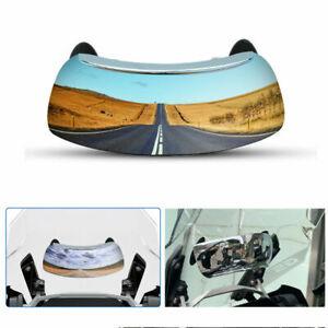 180° Windscreen Rearview Mirror For Honda VTR1000 RVT1000R RC51 VFR800 ST1100