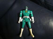 Power Rangers Green Ranger Triple Turbo  Action Figure Bandai flip head