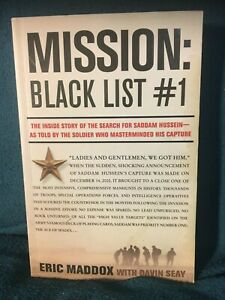 Mission: Black List #1 by Eric Maddox (Paperback)